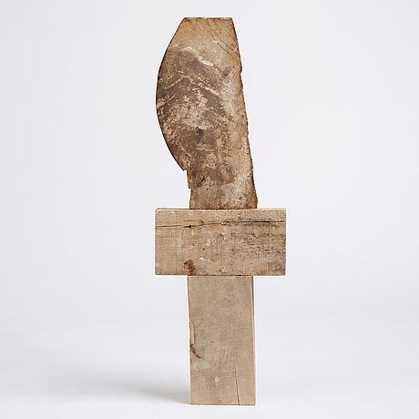 Andreas mangione, wood, 2017.