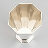 A swedish silver beaker, tenn & silver ab, tesi, gothenburg 1947.