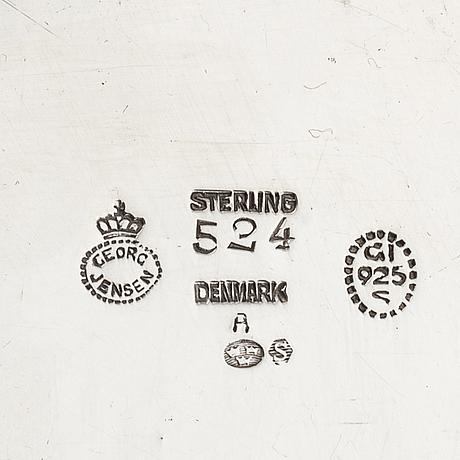 Georg jensen, mugg, sterlingsilver, köpenhamn, danmark 1925-32.