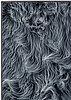 Karl norin, faux fur, epoxy, foam board, glass fibre, 2014.