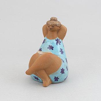 Lisa Larson, a stoneware figurine, 'Emma', from the series 'ABC-flickorna', for Gustavsberg.