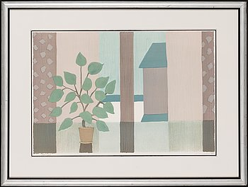 Veikko Vionoja, lithograph, signed and dated -88, numbered 34/100.