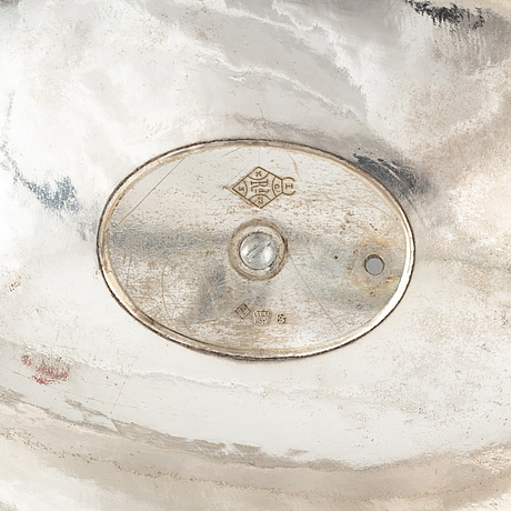 A silver plated hood, thomas bradbury & sons, sheffield.