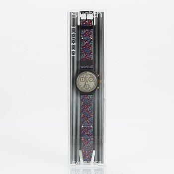 Swatch, Chrono, Award, wristwatch, chronograph, 37 mm.