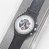 Swatch, chrono, silver star, armbandsur, kronograf, 37 mm.