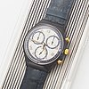 Swatch, chrono, timeless zone, armbandsur, kronograf, 37 mm.