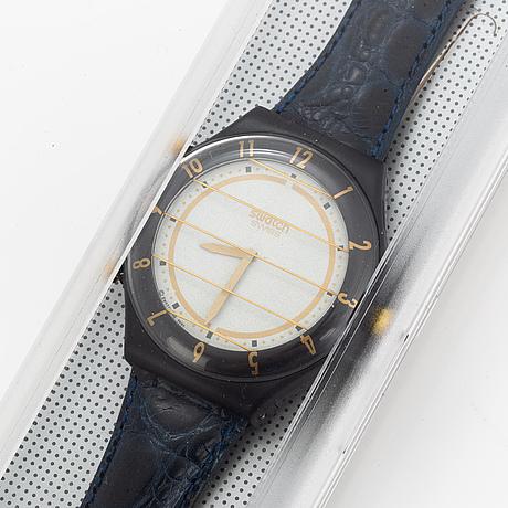 Swatch, pager, secret service, armbandsur, 43 mm.