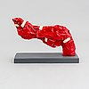 Carl-fredrik reuterswärd/ the non-violence project foundation, a polyresin sculpture 2017, certificate numbered 12/30.