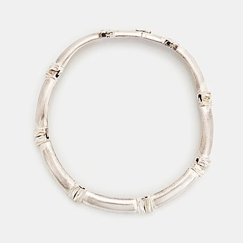 A Lapponia silver necklace.