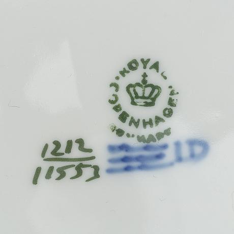 """27 pieces royal copenhagen, """"vifte"""", denmark."""