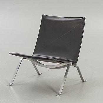 "Poul Kjaerholm, an easy chair ""PK 22"", Fritz Hansen 1988."