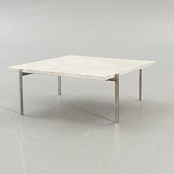 """Poul Kjaerholm, a coffee table """"PK 61"""", Fritz Hansen 1988."""