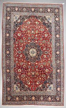A carpet, Najafabad, ca 446 x 263 cm.
