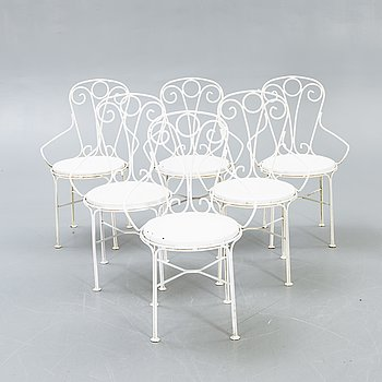 Byarum, Garden chairs 6 pcs.