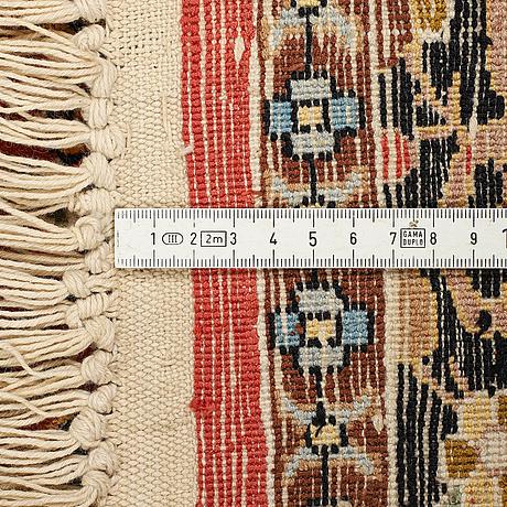 A carpet, oriental silk, ca 181 x 120 cm.