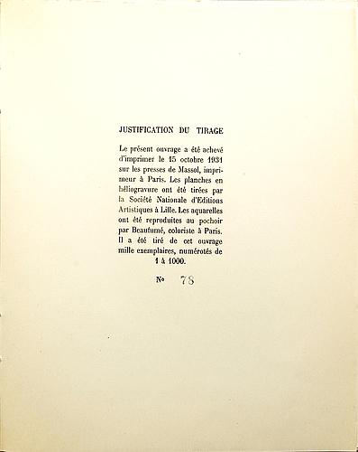 """Bok, """"les ballets suédois dans l'art contemporain"""", editions du trianon, paris, 1931."""