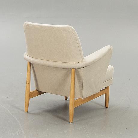 """Svante skogh, fåtölj, """"modell 827"""", gemla ab diö, 1950-tal."""