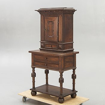 A cabinet later part of the 18th century.