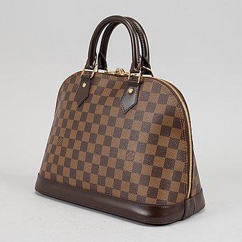 Louis Vuitton, a Damier Ebene 'Alma' handbag, 2012.