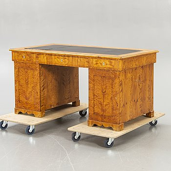 Desk, Karl Johan, mid-19th century.