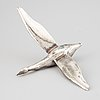 A silver bird by olle ohlsson, stockholm, 1985.