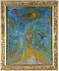 Hans belin, oil on canvas, signed.
