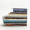 Christo and jeanne-claude, books 15 vol, dedications, reviews, cards etc.