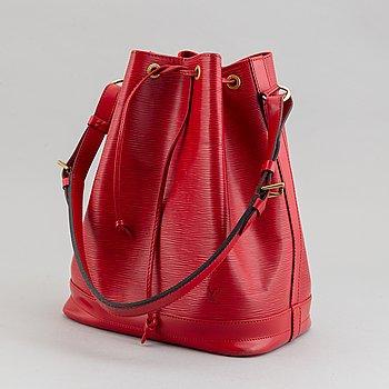 Louis Vuitton, a red Epi 'Noé' handbag, 1995.