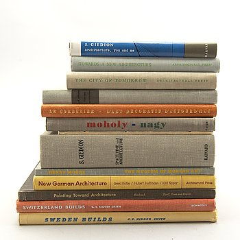 Architecture, townplaning etc, 13 volumes.