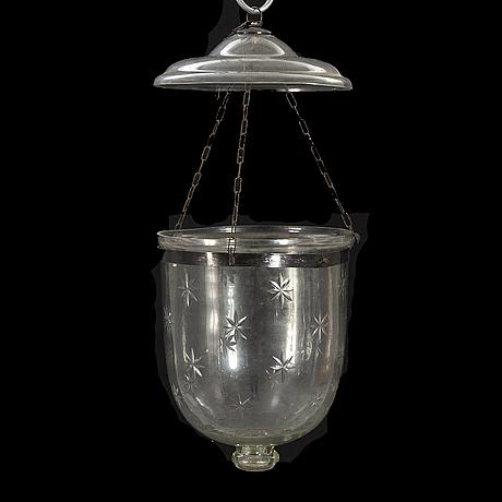 Ampel, glas, 1900-talets slut.