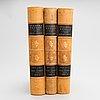 "Books, 3 vol, ""svenska fåglar"", m,w & f von wright. 1924 and 1929 stockholm."