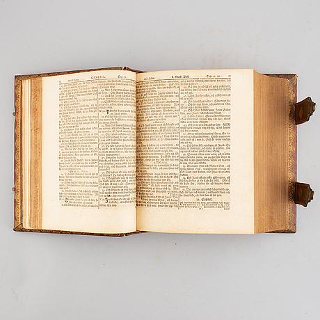 Gilt-tooled master binding, c. 1757.