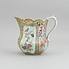 A canton famille rose porcelain jug, china, 19th century.