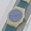 Swatch, pink flamingo, wristwatch, 25 mm.