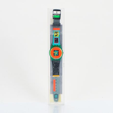 Swatch, shibuya, armbandsur, 34 mm.