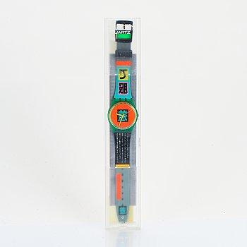 Swatch, Shibuya, wristwatch, 34 mm.