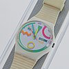 Swatch, tutti, wristwatch, 34 mm.