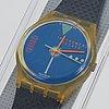 Swatch, take off, wristwatch, 34 mm.