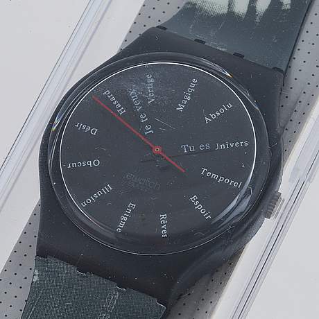 Swatch, st-germain, wristwatch, 33,5 mm.