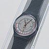 Swatch, pulsometer, wristwatch, 34 mm.
