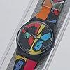Swatch, coloured love, wristwatch, 34 mm.