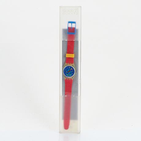 Swatch, frontloop, wristwatch, 25 mm.