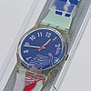 Swatch, gruau, wristwatch, 34 mm.