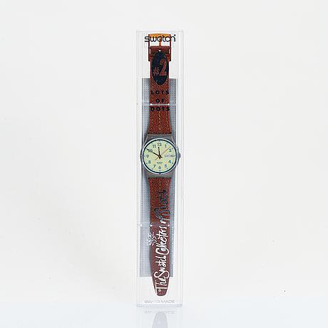 Swatch, high flyer, armbandsur, 34 mm.