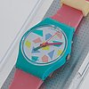 Swatch, pink lolly, wristwatch, 25 mm.