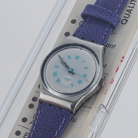 Swatch, malpensa, wristwatch, 25 mm.