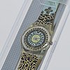 Swatch, vinci's twist, wristwatch, 25 mm.