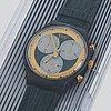 Swatch, rollerball, wristwatch, chronograph, 37,4 mm.