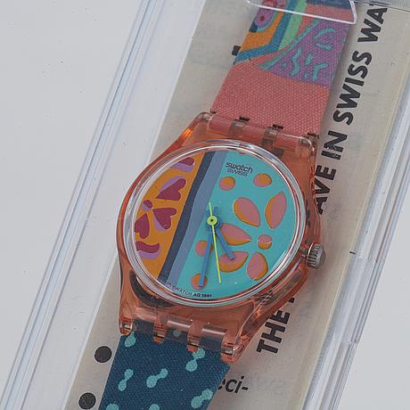 Swatch, essaouira, wristwatch, 25 mm.