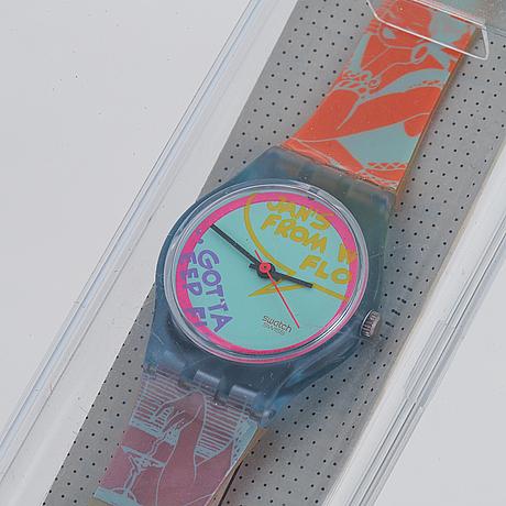 Swatch, betty lou, wristwatch, 25 mm.